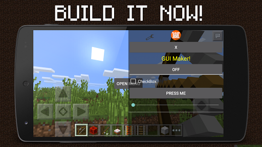GUI Mod Maker for MCPE Free