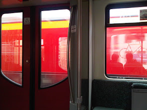 Photo: En route to Brunch on S-Bahn