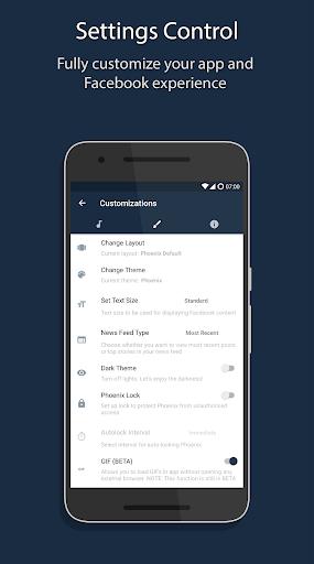 Phoenix - Facebook & Messenger screenshot 8