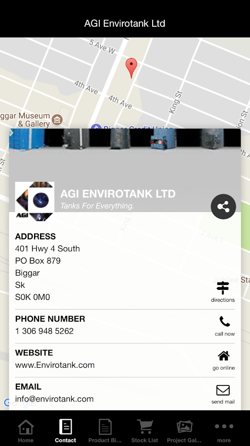 AGI Envirotank Ltd- screenshot