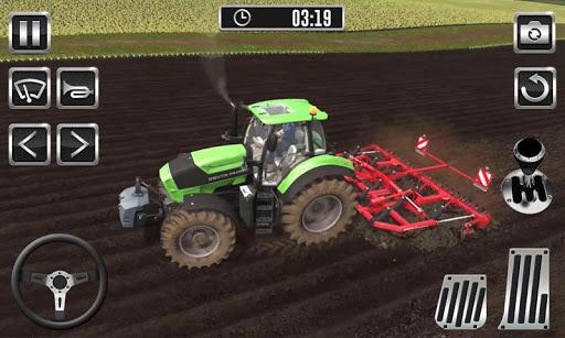 Farming Tractor Harvest Simulator - Tractor Drive  screenshots 1