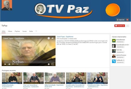 Canal TvPaz- screenshot thumbnail
