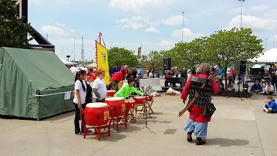 Photo: Chinese drum show