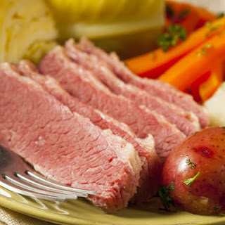 Brown Sugar and Mustard Glazed Corned Beef