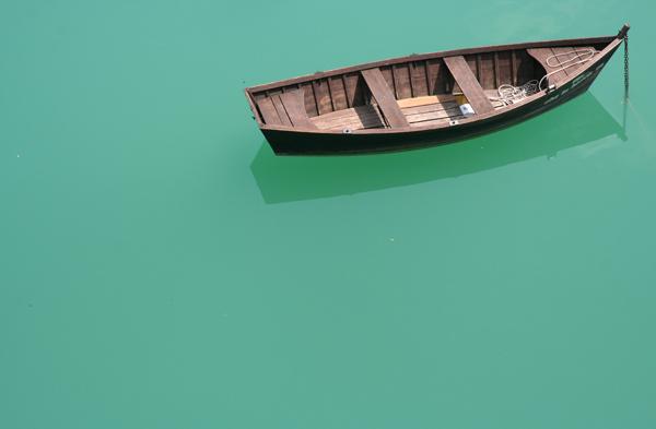In mezzo al lago di miloleroi