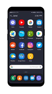 OneUI KLWP Screenshot