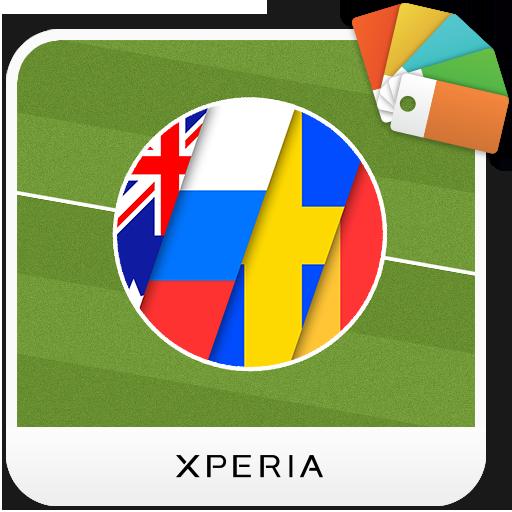 XPERIA™ Football 2018 Theme