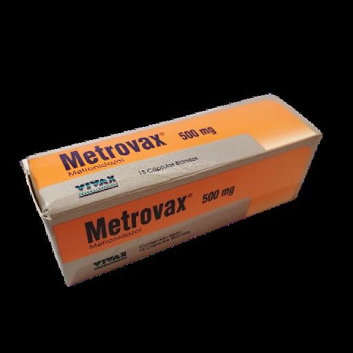 Metronidazol Metrovax 500 mg x 15 Cápsulas Vivax 500 mg x 15 Capsulas