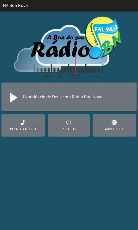 FM Boa Nova- screenshot
