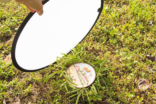 El difusor de fotografia elimna las sombras en las fotos de exterior