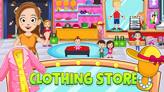 My Town : Stores MOD (Paid Content) 2