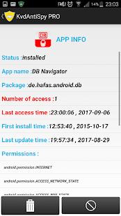 KvdAntiSpy-anti spy tool with real-time monitoring - náhled