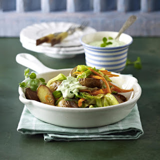 Stir-Fried Vegetables with Herb Sauce.
