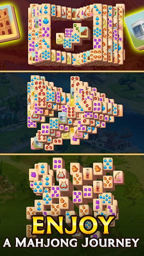 Emperor of Mahjong: Match tiles & restore a city filehippodl screenshot 3