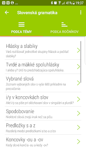 Slovak grammar- screenshot thumbnail