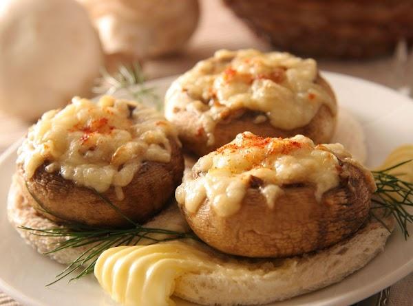 Crab Stuffed Mushrooms Recipe