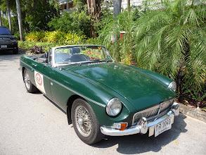 Photo: MG cabriolet in Hua Hin Vintage cars exhibition.