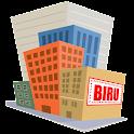 Biru puzzle : Skyscraper game icon