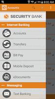 Screenshot of MySBank Mobile
