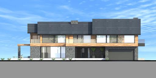 New House 21 - Elewacja przednia