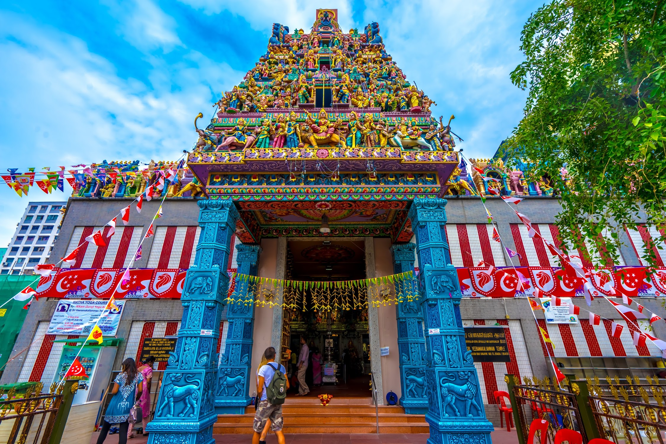 Singapore Little India Sri Veeramakaliamman Temple2