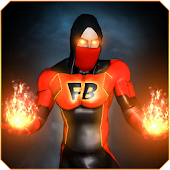 Superhero Fire Blaze - Flying Hero Game 2017