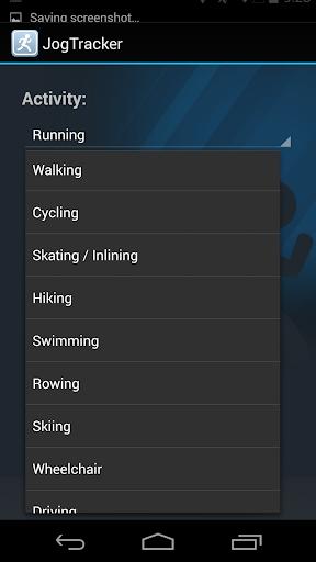 JogTracker 1.0.4 screenshot 4