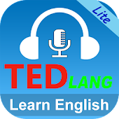 TEDlang - Learn TED Talks, multi language subtitle