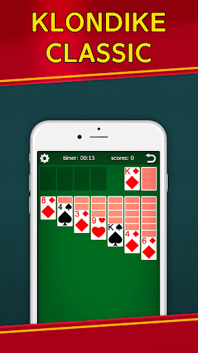 Classic Solitaire Klondike - No Ads! Totally Free! 2.05 screenshots 1