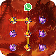 (FREE) Fire Dragon Lock Master Theme