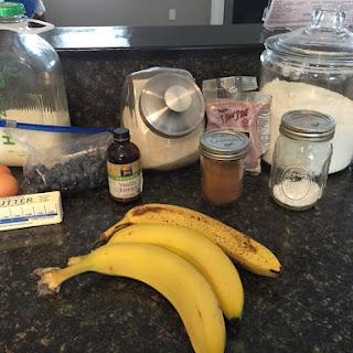 Fluffy Blueberry-Banana Bread!