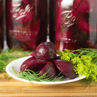 Dill Pickled Beets for Canning or Refrigeration