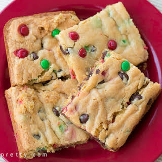 Cake Mix Cookie Bars.