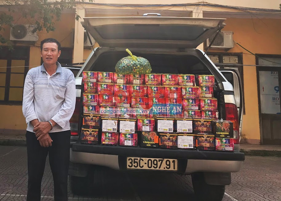 Đối tượng Trần Duy Tân và tang vật, phương tiện vụ án