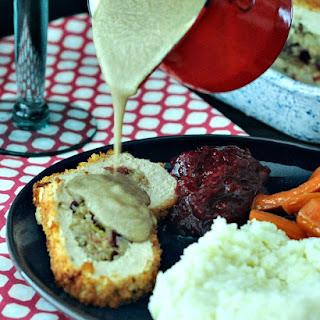 Savory Shiitake Rosemary Gravy