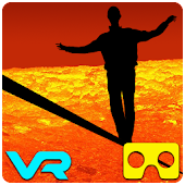 VR Volcano Rope Crossing