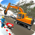 Snow Cutter Excavator Simulator-Winter Snow Rescue icon