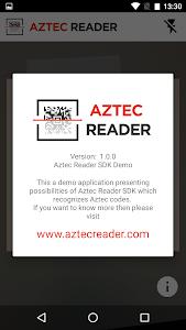 Aztec Reader Demo screenshot 3