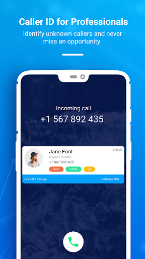 CRM, Caller ID, Sales & Leads Tracker by Calls.AI 1.6.1 screenshots 5