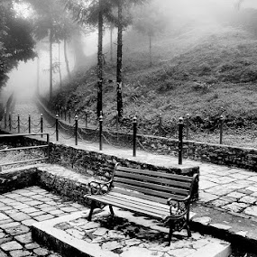 PEACE by Sayan Bhattacharya - Landscapes Travel ( black and white, b and w, landscape, b&w, monotone, mono-tone )