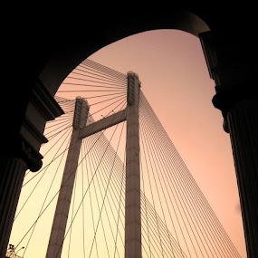 by Dipan Chaudhuri - Buildings & Architecture Bridges & Suspended Structures
