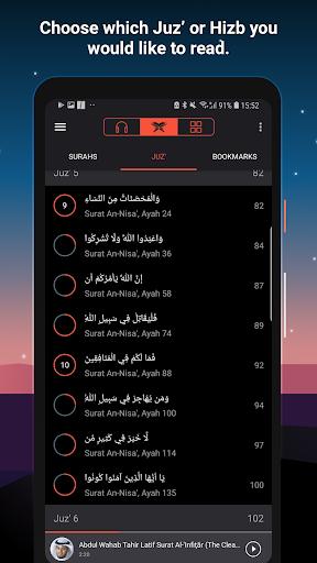 Quran Pro Muslim: MP3 Audio offline & Read Tafsir screenshot 16