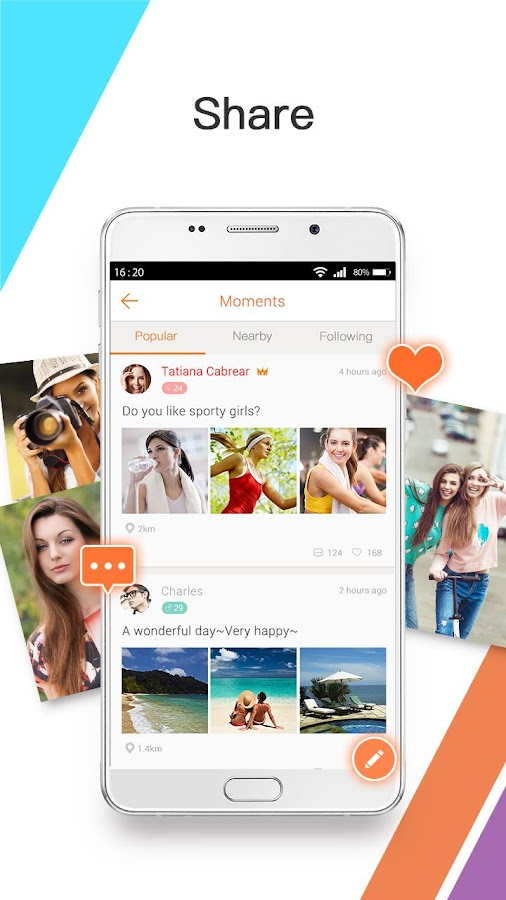 Screenshots of Mico - Meet New People & Chat for iPhone