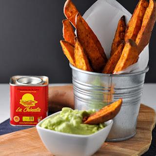 Smoky Sweet Potato Wedges