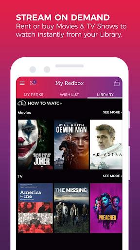 REDBOX: Rent, Stream & Buy screenshots 2