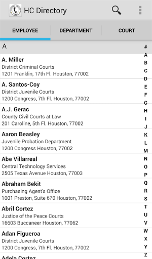HC Online Directory