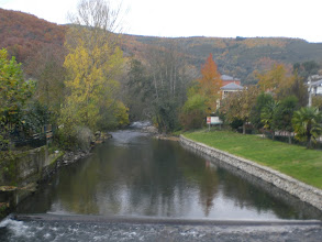 Photo: y el rio Selmo que en verano aquí se transforma en piscina