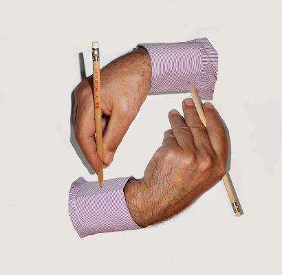Escher Mani che disegnano di GiBi