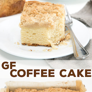 Sour Cream Gluten Free Coffee Cake.