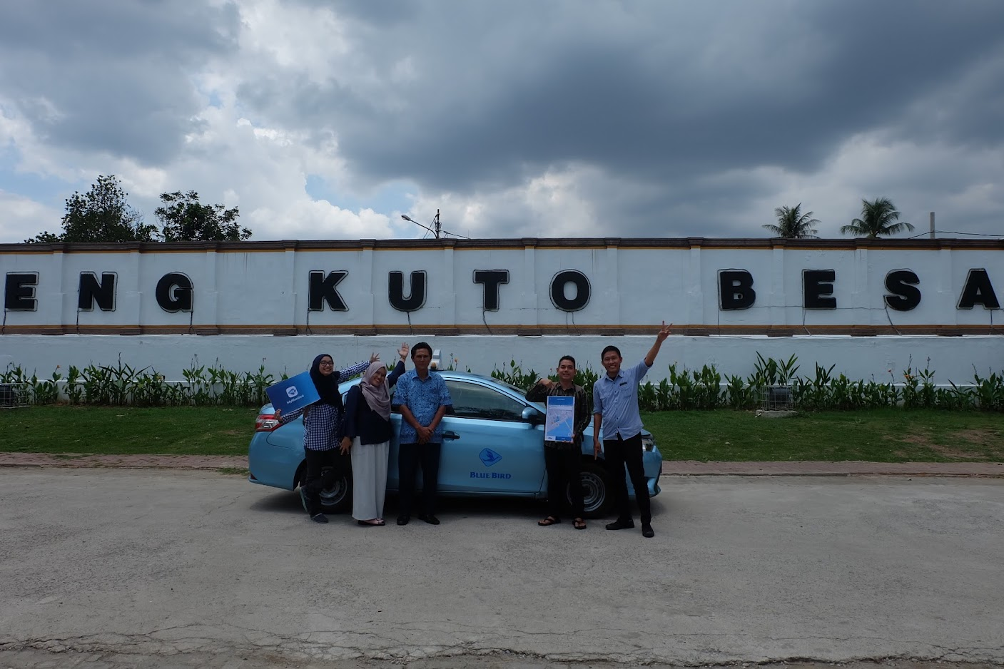 Taksi dari Bandara Palembang